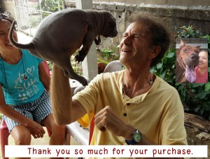ขอบคุณลูกค้าชาวต่างชาติที่ไว้วางใจมารับลูกสุนัขเรานะคะ