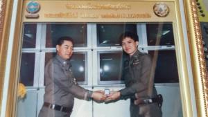 พลตำรวจเอก จักรทิพย์ ชัยจินดา ผบ.ตร. COMMISSIONER GENERAL ปี 2558