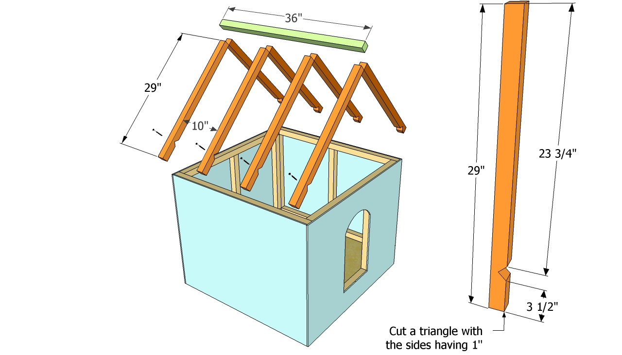 Installing-the-roof-of-the-dog-house