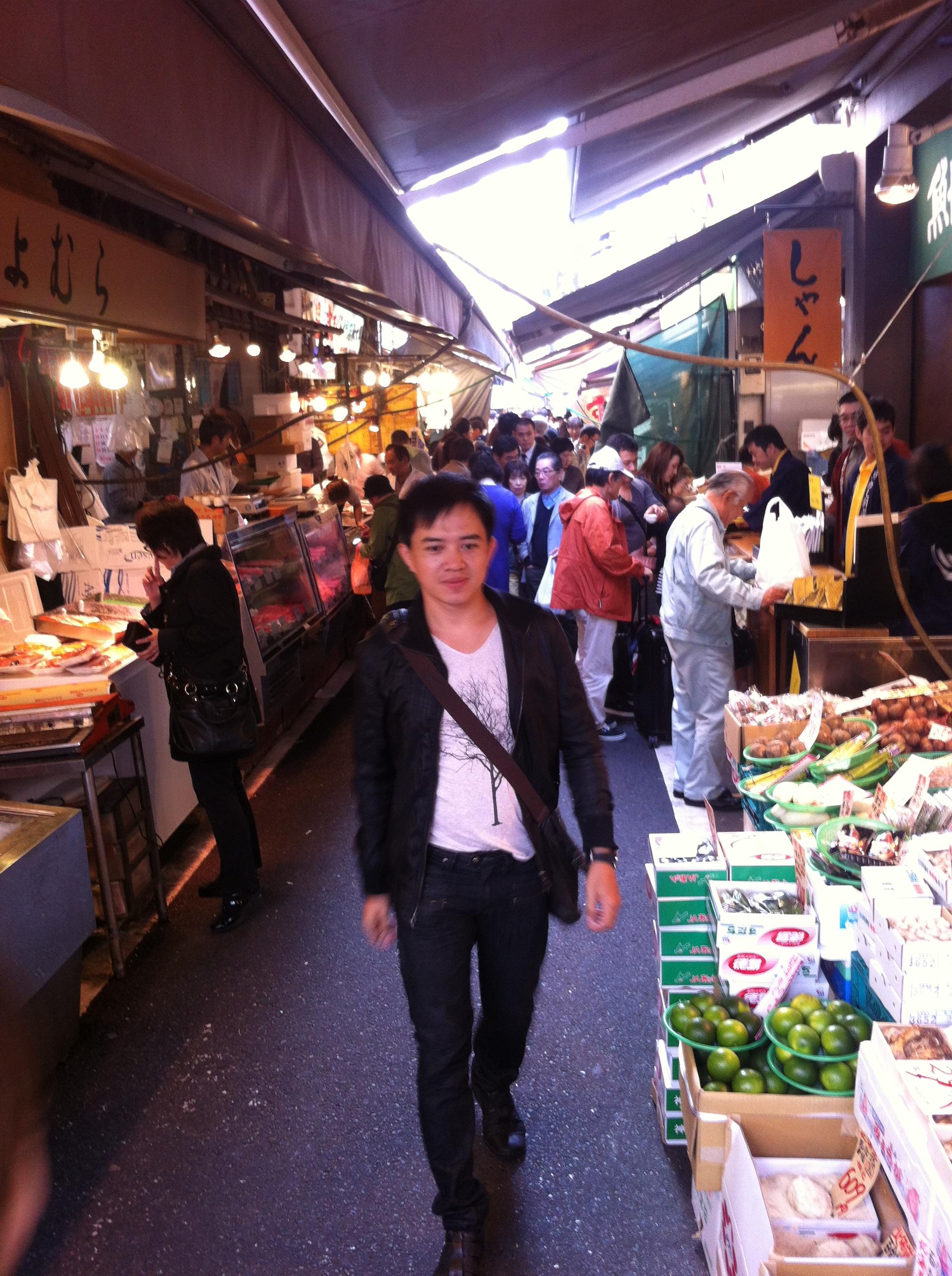,เส้นทางญี่ปุ่นโตเกียว,เที่ยวญี่ปุ่นที่ไหนดี,รีวิวโตเกียว,โตเกียวญี่ปุ่นพันทิบ,ตลาดปลาสึกิจิร้านอร่อย,ร้านอาหารโตเกียว,อะคิตะอินุ,ฮะจิโคสุนัขกตัญญู,เ